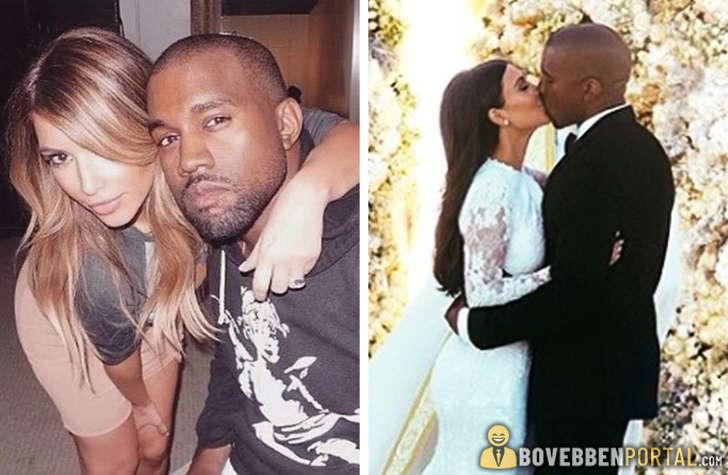 Kim és kanye először randevúztak